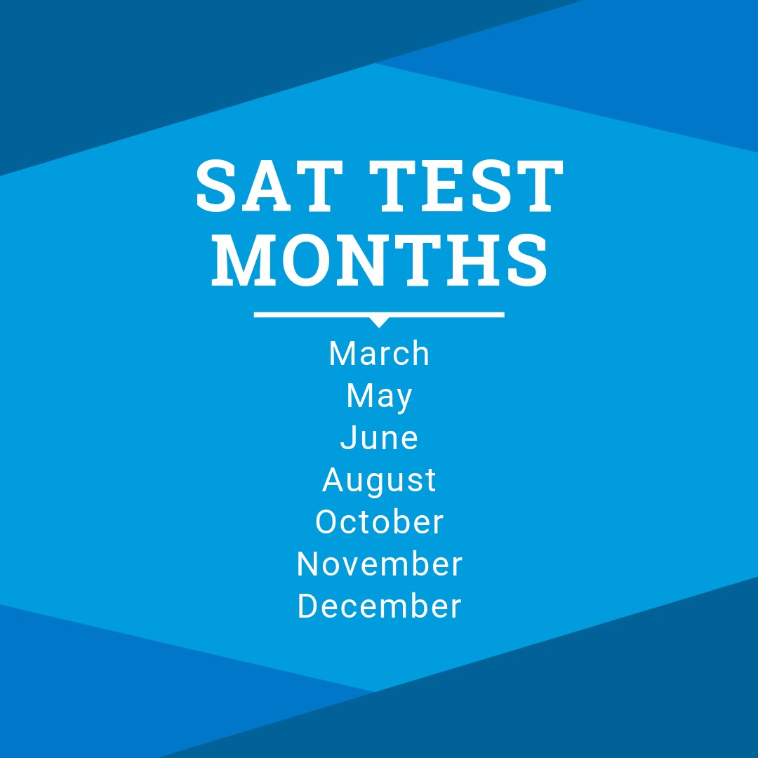 SAT Test Months