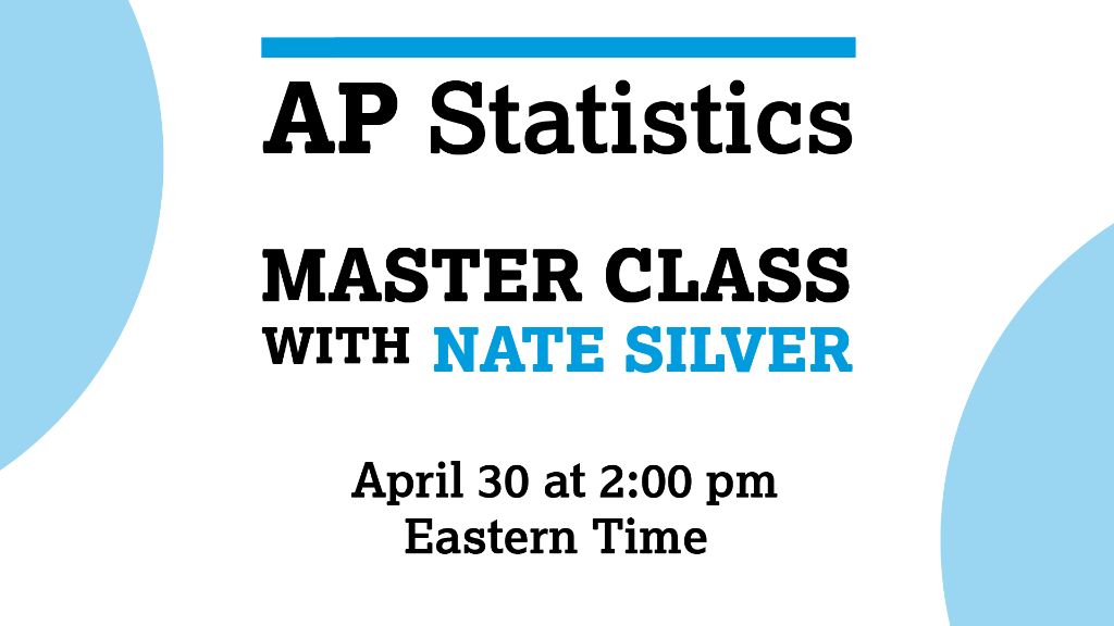 Nate Silver AP Master Class
